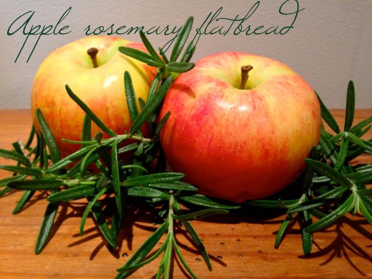 Apple flatbread 1