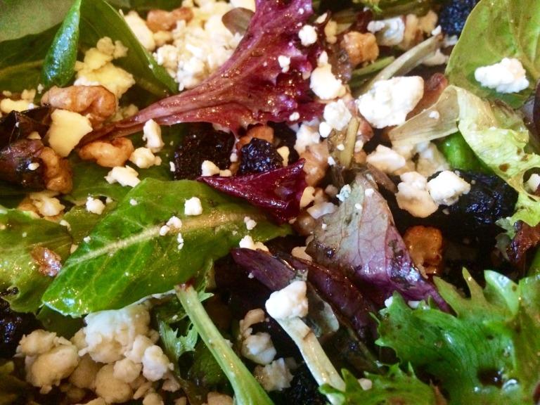 Cherry walnut salad 1