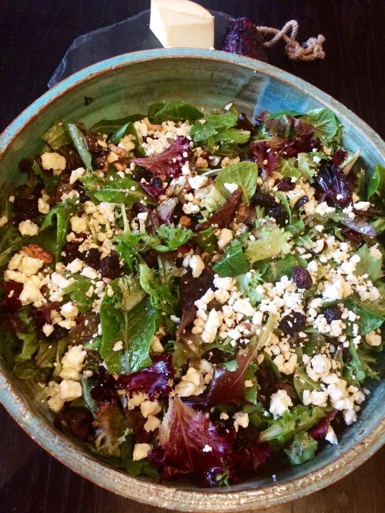 Cherry walnut salad 2