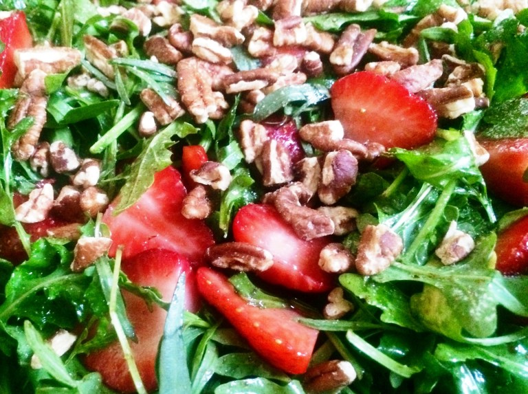 Strawberry arugula 2