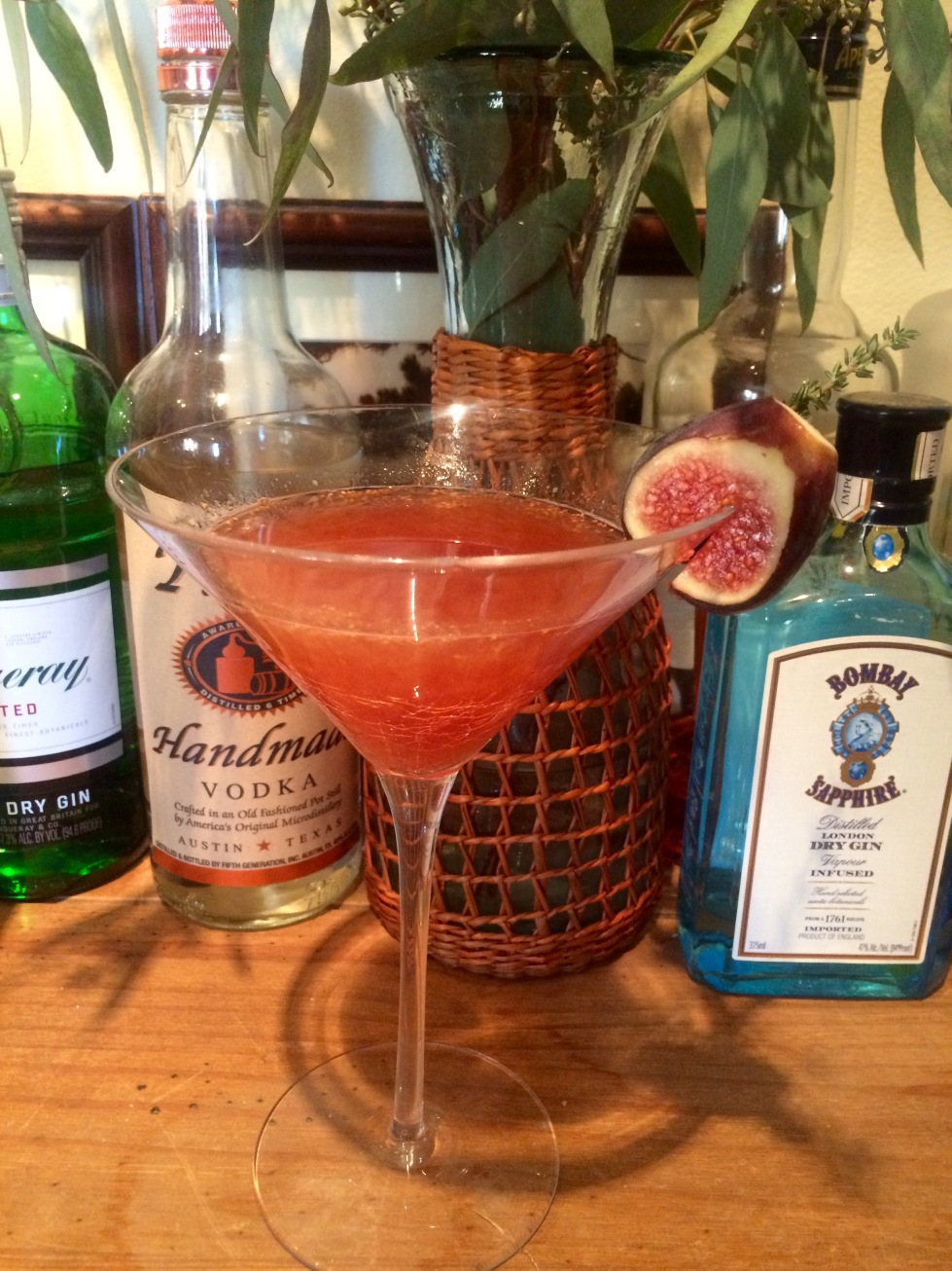 Figgy cocktail