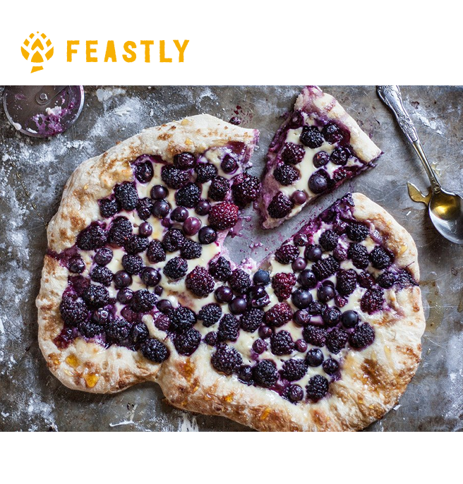 Berry pizza for blog